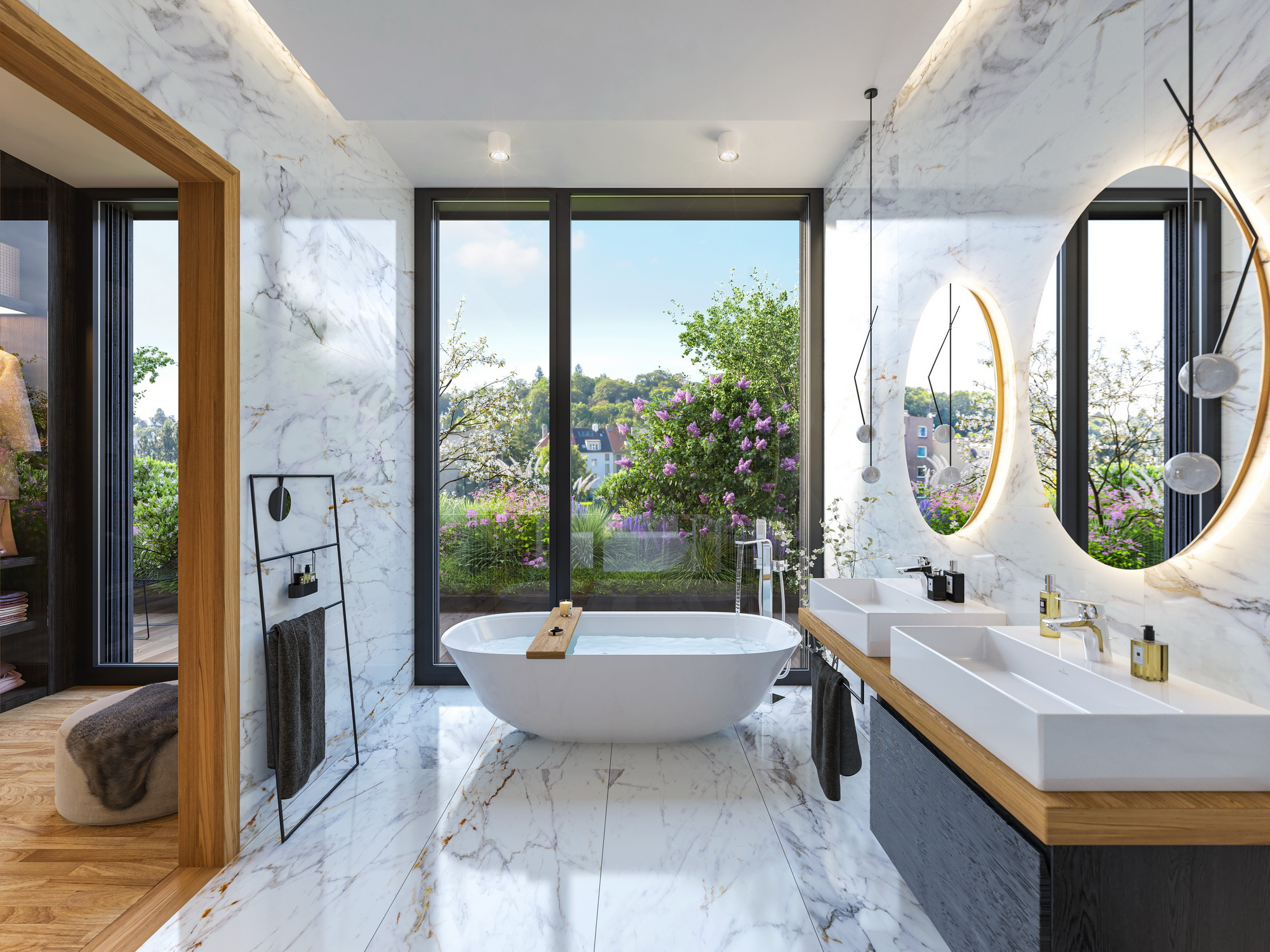 bathroom inspiration for penthouse